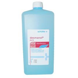 Händedesinfektion Desmanol Pure   1000ml / Euroflasche (FL=1000 MILLILITER) Produktbild