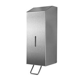 Seifenspender racon X125 mit Hebel 1250ml / Edelstahl gebürstet / 100x293x120mm / Temca Produktbild