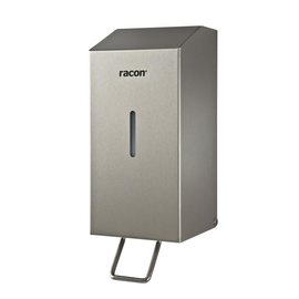 Seifenspender racon X80 anti-finger- print mit Hebel 800ml / Edelstahl gebürstet / 100x252x125mm / Temca Produktbild