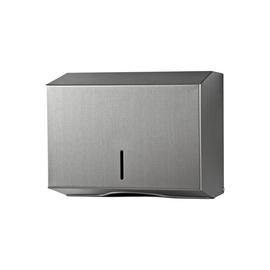 Handtuchspender racon kappa XS Edelstahl gebürstet / 253x203x120mm / Temca 121 393 Produktbild