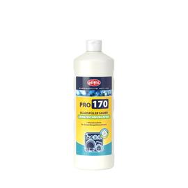 Klarspüler sauer Pro 170 1 Liter Glanztrockner für Gewerbespülmaschinen Kennzeichnungsfrei (KTN=12FL) Produktbild