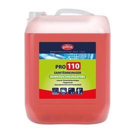 Sanitärreiniger PRO 110 10Liter / Kanister / Eilfix Kennzeichnungsfrei (KAN=10 LITER) Produktbild