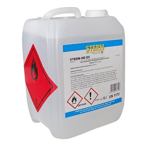 Händedesinfektionsmittel 5 Liter Kanister (ST=5 LITER) Produktbild Front View L