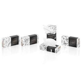 Kosmetiktücher 21x20,5cm Einzelpack 2-lagig hochweiß Wepa Prestige (KTN=100 STÜCK) Produktbild