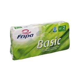 Toilettenpapier 2-lagig / 400 Blatt / Recycling / weiß / Fripa Basic (PACK=48 ROLLEN) Produktbild
