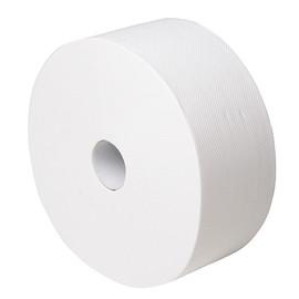 Toilettenpapier Jumbo Mini 2-lagig / 9,2cm 240m / Ø25cm / Zellstoff / weiß / e6 e one (PACK=9 ROLLEN) Produktbild