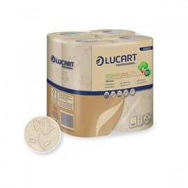 Toilettenpapier 2-lagig / 250 Blatt / Fiberpack / havanna / Lucart  ECONATURAL 250 (PACK=64 ROLLEN) Produktbild