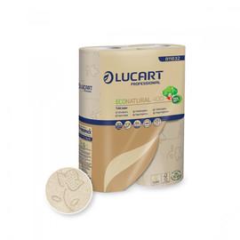Toilettenpapier 2-lagig / 400 Blatt / Fiberpack / havanna / Lucart ECONATURAL 400 (PACK=30 ROLLEN) Produktbild