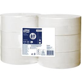 Toilettenpapier Jumbo Rollen T1 2-lagig 9,4cm 360m / Ø26cm / Recycling / weiß Tork 120272 (PACK=6 ROLLEN) Produktbild
