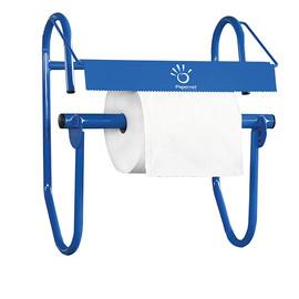 Wandhalterung für Putzrollen bis Ø40cm blau / 55x27x59cm / Kunststoff / Papernet Produktbild