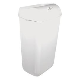 Abfallbehälter e13 Steh-/Wandmontage weiß 23l 330x220x490mm Produktbild