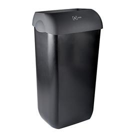 Abfallbehälter e13 23 Liter / schwarz / Kunststoff / 330x220x490mm ohne Deckel e one Produktbild
