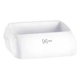 Deckel für Abfallbehälter e13 weiß 23l 330x220x90mm Produktbild