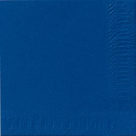 Servietten 24x24cm 3-lagig dunkelblau Duni 104051 (PACK=20 STÜCK) Produktbild