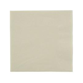 Servietten Zelltuch 1/4 Falz / 24x24cm / 3-lagig / cream / Duni (PACK=250 STÜCK) Produktbild