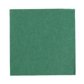 Servietten Zelltuch 1/4 Falz / 33x33cm / 3-lagig / jägergrün / Duni (PACK=250 STÜCK) Produktbild