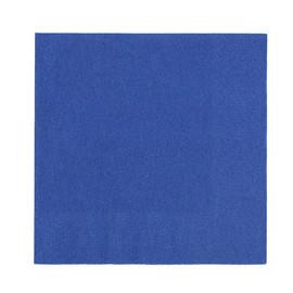 Servietten Zelltuch 1/4 Falz / 33x33cm / 3-lagig / dunkelblau / Duni (PACK=250 STÜCK) Produktbild