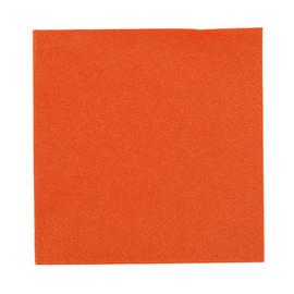Servietten Zelltuch 1/4 Falz / 33x33cm / 3-lagig / mandarin / Duni (PACK=250 STÜCK) Produktbild