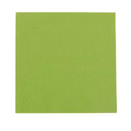 Servietten Zelltuch 1/4 Falz / 40x40cm / 3-lagig / herbal green / Duni (PACK=250 STÜCK) Produktbild