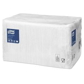 Servietten Großpackung 1/8 Falz / 33x33cm / 1-lagig / weiß / Tork 478550 (PACK=500 STÜCK) Produktbild
