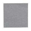 Servietten Zelltuch 1/4 Falz / 33x33cm / 3-lagig / granite grey / Duni (PACK=250 STÜCK) Produktbild Additional View 1 S