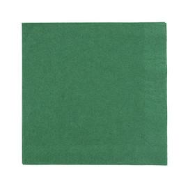 Servietten Zelltuch 1/4 Falz 40x40cm 3-lagig jägergrün Duni (PACK=250 STÜCK) Produktbild