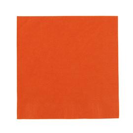 Servietten Zelltuch 1/4 Falz / 40x40cm / 3-lagig / mandarin / Duni (PACK=250 STÜCK) Produktbild