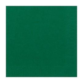 Servietten 1/4 Falz 33x33cm 3-lagig jägergrün Duni 154492 Produktbild