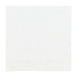 Servietten 1/4 Falz 33x33cm 3-lagig weiß Duni 154489 Produktbild