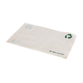 Servietten Zelltuch 1/8 Falz / 33x33cm / 2-lagig / natur braun / Recycling (KTN=2500 STÜCK) Produktbild