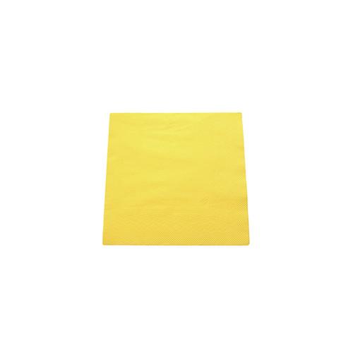 Servietten Soft  1/4 Falz / 33x33cm / 3-lagig / gelb / Tork  477862 (PACK=150 STÜCK) Produktbild Additional View 1 L