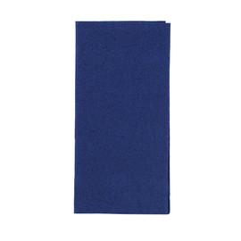 Servietten Zelltuch 1/8 Falz / 33x33cm / 3-lagig / dunkelblau / Duni (PACK=250 STÜCK) Produktbild