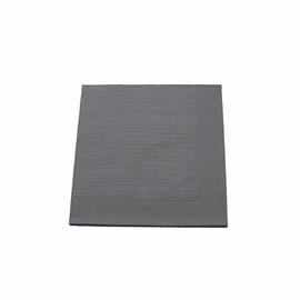 Servietten Klassik Zelltuch 1/4 Falz 40x40cm / 4-lagig / granite grey / Duni (PACK=50 STÜCK) Produktbild