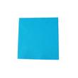 Servietten Tissue Basic 1/4 Falz / 33x33cm / 3-lagig / aqua blau (PACK=100 STÜCK) Produktbild