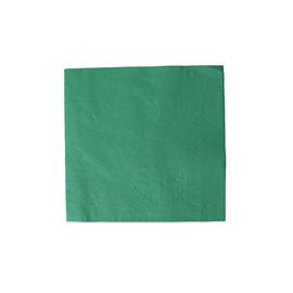 Servietten Tissue Basic 1/4 Falz / 33x33cm / 3-lagig / grün (PACK=100 STÜCK) Produktbild