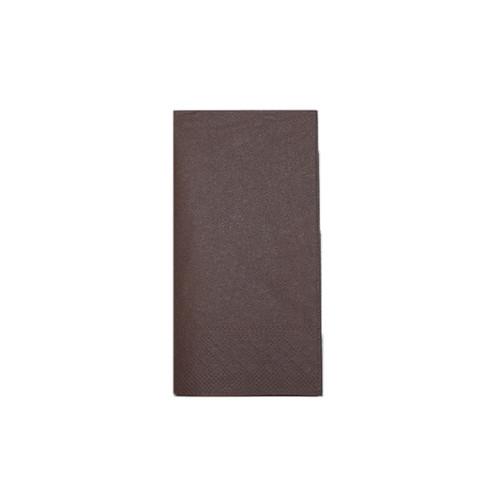 Servietten Tissue Basic 1/8 Falz / 33x33cm / 3-lagig / braun (PACK=100 STÜCK) Produktbild