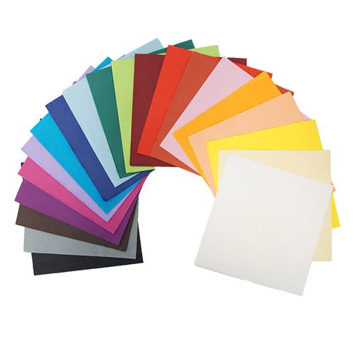 Servietten Tissue Basic 1/4 Falz / 40x40cm / 3-lagig / schwarz (PACK=100 STÜCK) Produktbild Additional View 1 L