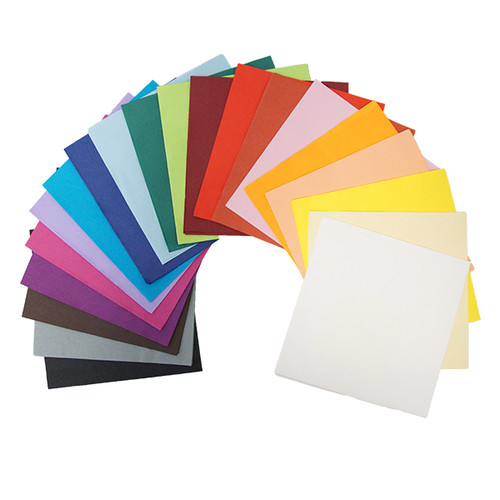 Servietten Tissue Basic 1/4 Falz / 40x40cm / 3-lagig / rot (PACK=100 STÜCK) Produktbild Additional View 1 L