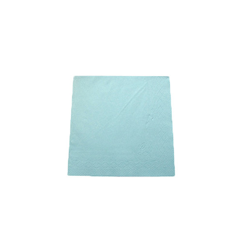 Servietten Soft 1/4 Falz / 39x39cm / 3-lagig / hellblau / Tork 477913 (PACK=100 STÜCK) Produktbild Additional View 1 L
