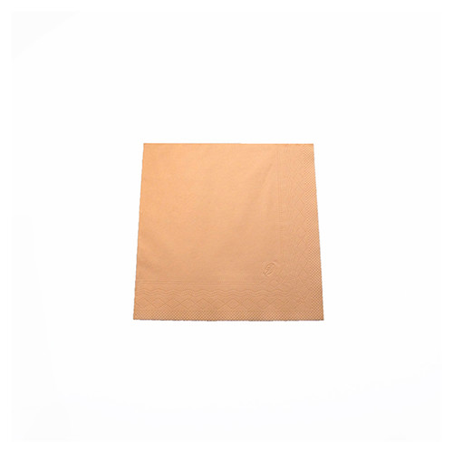 Servietten Soft 1/4 Falz / 33x33cm / 3-lagig / apricot / Tork 477863 (PACK=150 STÜCK) Produktbild Additional View 1 L