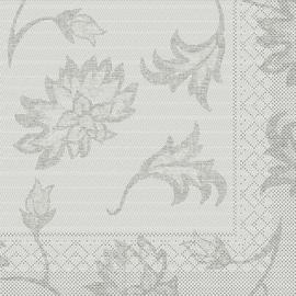 Servietten Tissue LISBOA 1/4 Falz / 40x40cm / 3-lagig / grau (PACK=100 STÜCK) Produktbild