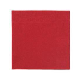 Servietten Zelltuch 1/4 Falz / 24x24cm / 3-lagig / bordeaux / Duni (PACK=250 STÜCK) Produktbild