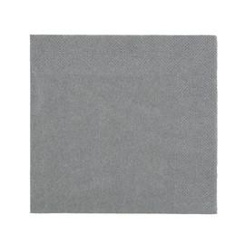 Servietten Zelltuch 1/4 Falz / 24x24cm / 3-lagig / grantie grey / Duni (PACK=250 STÜCK) Produktbild