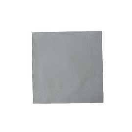 Servietten Tissue Deluxe Basic 1/4 Falz / 40x40cm / 4-lagig / grau (PACK=50 STÜCK) Produktbild