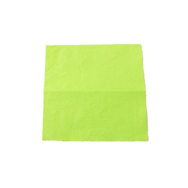 Servietten Tissue Basic 1/4 Falz / 33x33cm / 3-lagig / kiwi (PACK=100 STÜCK) Produktbild