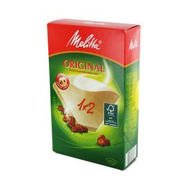 Kaffee-Filtertüten naturbraun Melitta 1x2g (PACK=80 STÜCK) Produktbild