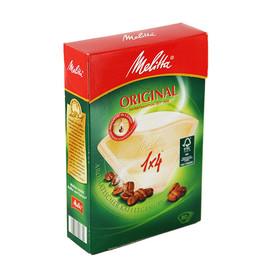 Kaffee-Filtertüten naturbraun Melitta 1x4g (PACK=80 STÜCK) Produktbild