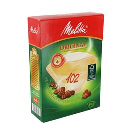 Kaffee-Filtertüten naturbraun Melitta 102g (PACK=80 STÜCK) Produktbild