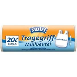 Abfallbeutel mit Tragegriff 20l Swirl (PACK=20 STÜCK) Produktbild