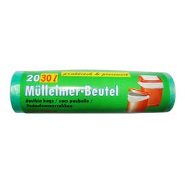 Müllbeutel 540x550mm 30l grün (RLL=20 STÜCK) Produktbild